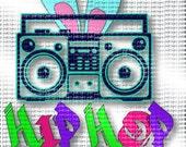 Easter ~ Hip Hop Radio SVG