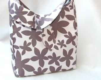 Shoulder Bag Sale 25% , SALE Diaper Bag, Large Bag, Every Day Bag ,Womens Work Bag, Tote Bag, Large Tote Bag Marby Flannel Grey CLEARANCE