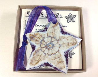 """Starfish Ornament - """"Make a Difference"""" from Sacred Shards"""