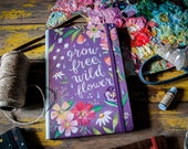 Grow Free Notepad Folio | Notebook | Journal | Katie Daisy