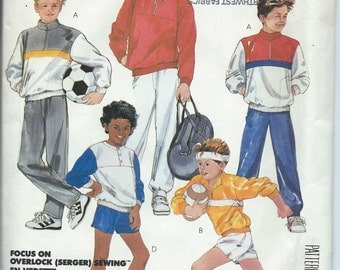 McCall's 2724 Boys' Tops Pants and Shorts - Size Medium - Uncut Vintage Pattern