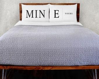 Mine & Yours Pillowcase Set