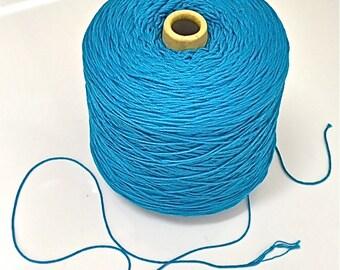 SUPER DUPER SALE!Mercerized Cotton/Mouzakis Butterfly dk wt/Tahki Cotton Classic/Super 10/Cone dk wt/Turquoise Mercerized Cotton dk wt