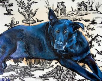 Dog Memorial Portrait, Pet Remembrance, Pet Loss Sympathy, Dog Sympathy Gift, Dog Loss Sympathy, Dog Remembrance, Pet Memorial, Pet Portrait