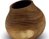 Stone and Elm - Elm Wood Pot