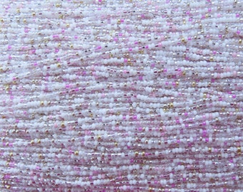 10/0 Coconut Cove Mix Czech Glass Seed Beads 12 Strand Hank (ES17)