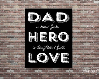 Gifts For Dads, Gifts To Dads, Instant Download,YOU PRINT, Dad Gifts, Gifts From Daughters, Gifts From Sons, Fathers Day Gift,