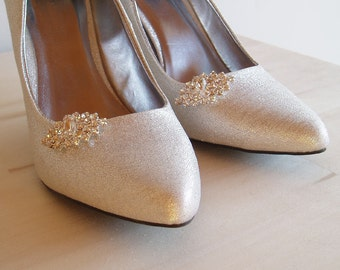 Clips for Wedding Shoes, Shoe Clips, Bridal shoeclips crystal shoes bling rhinestone fancy womens shoes