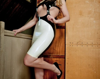Latex Rubber Undercover dress
