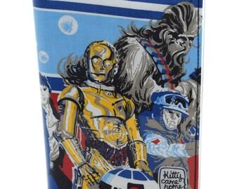 A5 Journal - C-3PO  Star Wars vintage fabric