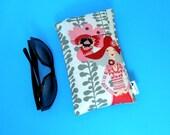 Roomy Sunglasses Case in a Fun Rivoli Girls Design