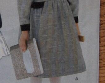 vintage 1995 vogue pattern 9298 girls child dress uncut sz 5-6-6X Florence Eiseman