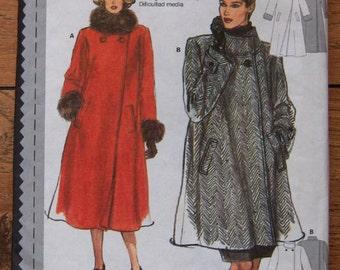 Burda pattern 3354 Women misses COATS loose fitting sz 10-20 uncut
