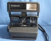 Vintage, Working, Polaroid 600, One Step, Close Up, Instant Film Camera