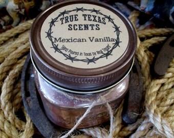 Mexican Vanilla - 8 oz Western Cowboy Candle