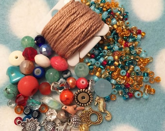 Bead Happy Necklace Kit - Caribbean