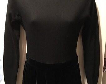 Vintage Jon Higgins Velvet Dress For Bymini Bloomingdales Young East Sider Shop