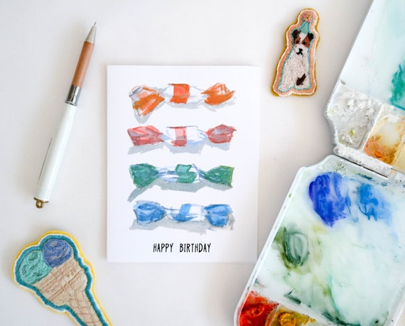 Taffy Assortment Birthday Card