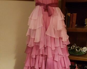 Hermine Granger Rot Chiffon R 252 Sche Kleid Kost 252 M Von Tavariel
