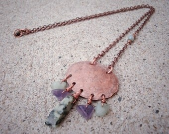 Copper Penny Necklace