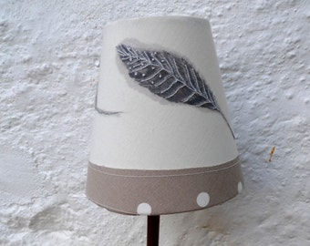 Feather small lampshade