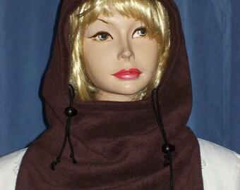 Dark Brown Balaclava - Fleece Balaclava - ski mask - ski masks - Balaclava Mask - Winter Face Mask - Skull Balaclava - Balaclava - Gaiter