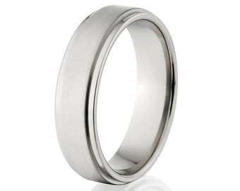 New 6mm Comfort Fit Ring-6RC-XB