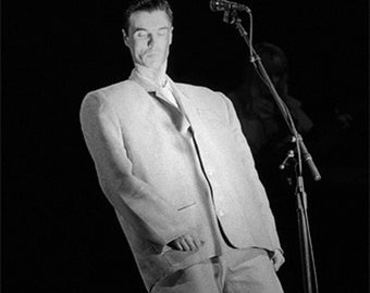 David Byrne of Talking Heads, 1983
