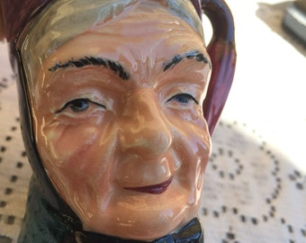 """Sterling """"Toby"""" Character Jug - An Old Woman"""