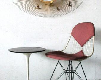 MOD-LOVE SALE! Herman Miller Eames dkr-2 Chair Bikini Eiffel Tower Chair Herman Miller Vintage Wire dkr Chair, eiffel eames chair