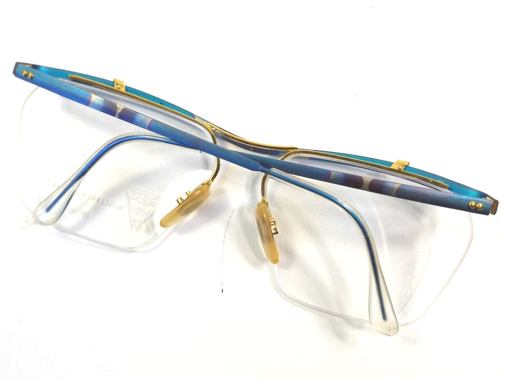 vintage 80s deadstock guess oversize frame eyeglasses george ...