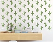 Cactus Wall Decal, Cactus Decal, Cactus Decor, Southwestern Decor, Cactus Wall Art, Dorm Decor, Nursery Wall Decal, Dorm Wall Art, Cactus
