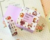 05 Kitty Cats Cartoon Summer Washi Masking Tape