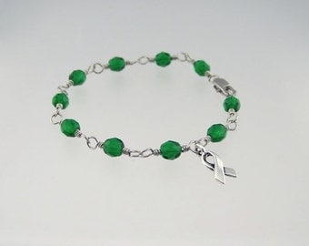 Liver Cancer Awareness Bracelet