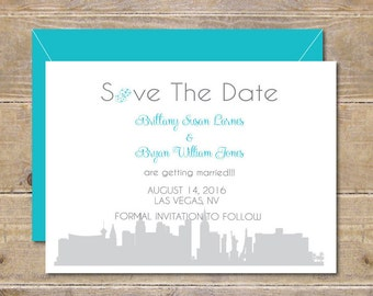 Save The Dates, Las Vegas, Vegas Weddings,  Affordable Weddings, Destination Wedding, Destination Save the Dates