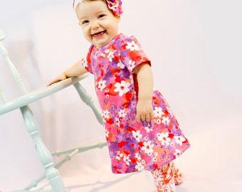 Baby Dress Pattern - Long Sleeve A-line