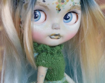 OOAK Custom Blythe Doll Litte Dragon - Kaida