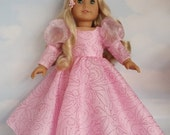 18 inch doll clothes - #705 GLINDA Gown handmade to fit the American girl doll - FREE SHIPPING