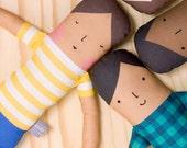 Stripe Girl Doll (Little People)