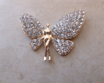 Lady Butterfly Magnet