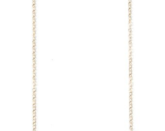 Sleeping beauty Turquoise necklace with gold filled chain