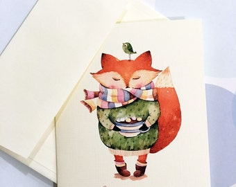 Christmas Cards, Custom Holiday Card, Set of 10