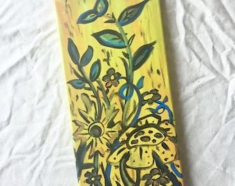 Summer Art - Autumn Art - Prairie Art - Seasonal Art - Flower Art Painting