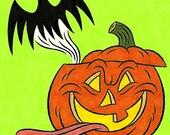 Pumpkin Drawing (Inktober/Drawlloween 2015)