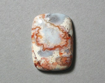 CRAZY LACE AGATE cabochon rectangle 22X30mm designer cab