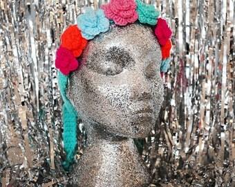 Bright Bouquet Budding Flower Crown