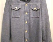 RARE Vintage Ron Postal of Beverly Hills Mens Leisure Shirt Jacket