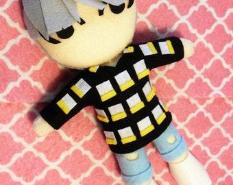"""Kpop BTS Suga Handmade plushie plush toy doll """"Fire"""" MV version 2"""