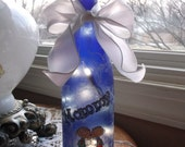 Gift for Mom - Wine Bottle Lamp,mom,mothers day,wine bottle lamp,wine bottle lights,lighted bottles,lighted wine bottle,lamp,lamps wine