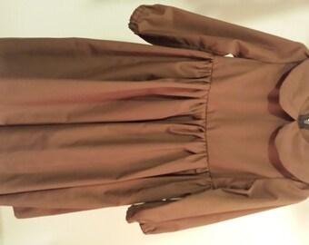 Dress - brown
